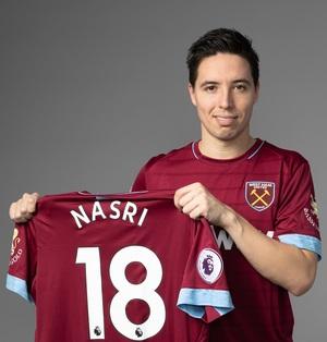 Nasri resmi bergabung di West Ham