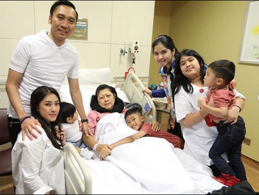 Mantan Ibu Negara Ani Yudhoyono Divonis Menderita Kanker Darah