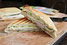 Turkey, havarti & pesto panini