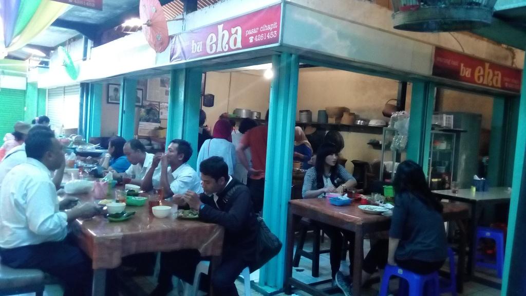 Aneka kuliner yang terdapat di Bandung