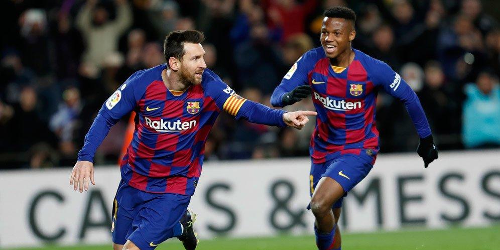 Barcelona Kalahkan Granada Dengan Skor 1-0, Lionel Messi Cetak Gol